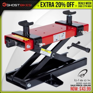 DEALS WEEK – EXTRA 20% OFF BLACK SCISSOR LIFT usually £54.99 now £43.99
