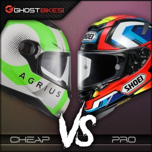 Motorcycle Helmets – Cheap Vs Pro Part 3