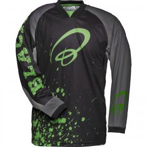 5255-Black-Splat-Motocross-Jersey-Green-1