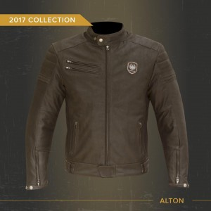 The Merlin Alton Leather Motorcycle Jacket