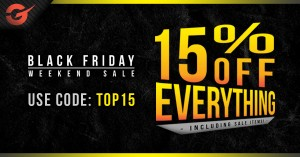 Get 15% off this Cyber Weekend!